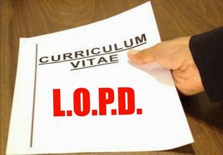 CV LOPD