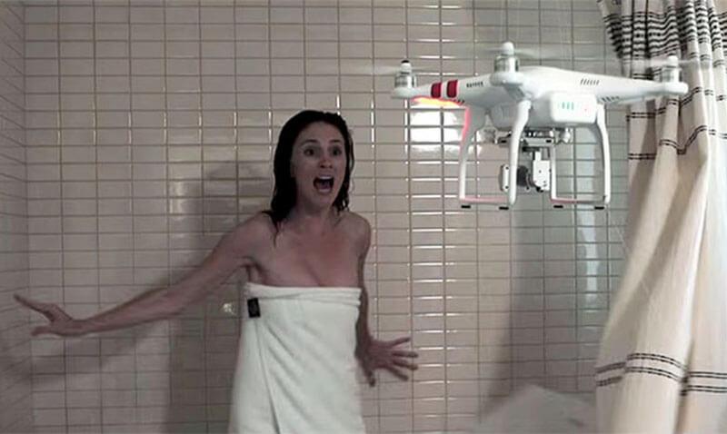 Amenaza del uso de drones a la privacidad