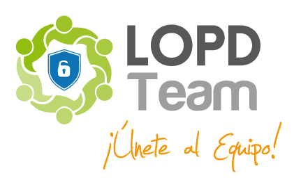 logotipo LOPD Team