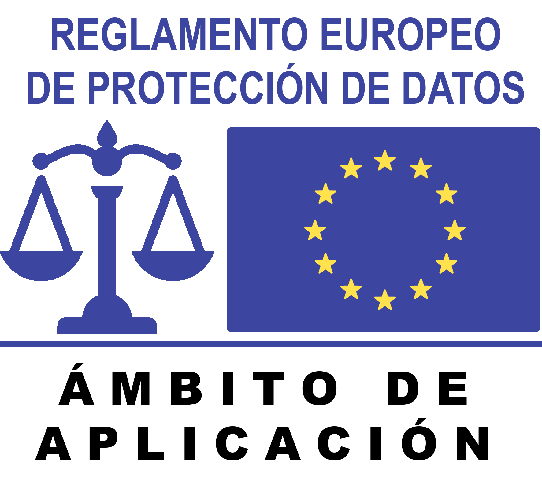 Reglamento Europeo de protección de datos. Ámbito de aplicación